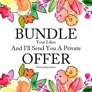 Bundle And Save $$